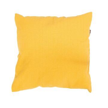 Plain Yellow Kissen