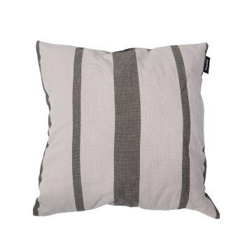 Stripes Silver Kissen