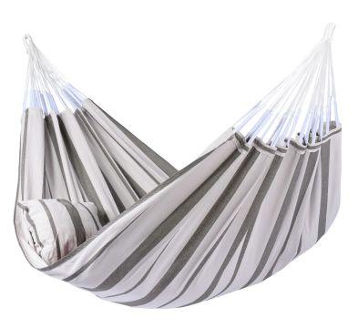Stripes Silver XXL Hängematte